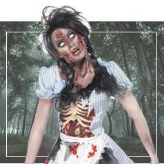 Disfraces de Miedo Mujer