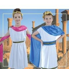 Disfraces de Romana y Romano Infantiles
