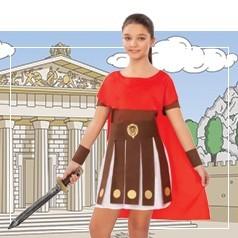Disfraces de Romana para Niña