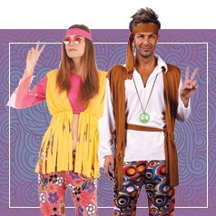 Disfraces de Hippie Adultos