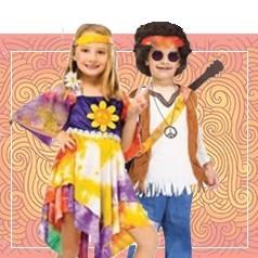 Disfraces de Hippie Infantiles