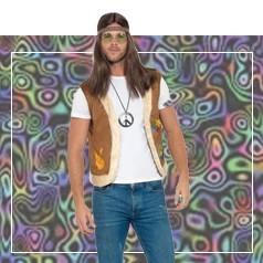 Disfraces de Hippie Hombre