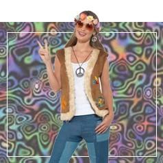 Disfraces de Hippie Mujer
