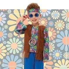 Disfraces de Hippie Niño