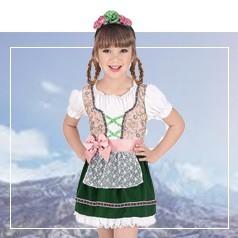 Disfraces de Tirolés Infantiles
