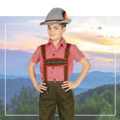 Disfraces de Tirolésa Niño