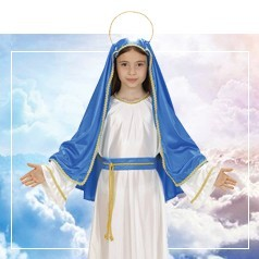 Disfraces de Virgen Maria Niña