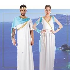 Disfraces de Griega y Griego Adultos