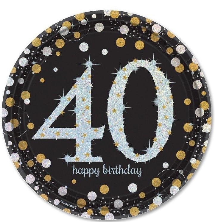 Para celebrar los 40 años necesitaremos una decoración de 40 cumpleaños ideal para la ocasión