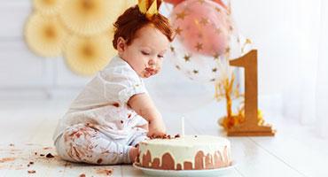 articoli di compleanno neonato