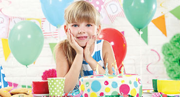 negozio compleanno bambina