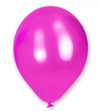 Decora tu evento con globos de colores metálicos