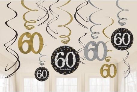 60 Cumpleaños Artículos Y Accesorios Al Mejor Precio Comprar