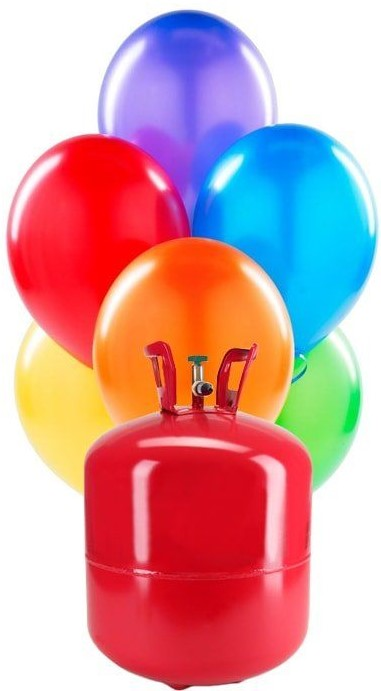 ¿Cuánto dura un globo inflado con helio?