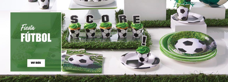 Decoración para fiestas de fútbol