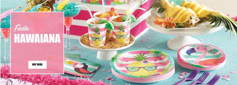 Accesorios y decoración para fiestas hawaianas